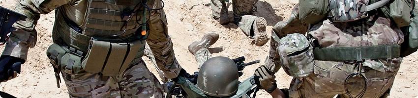 Letsel bij militairen en veteranen